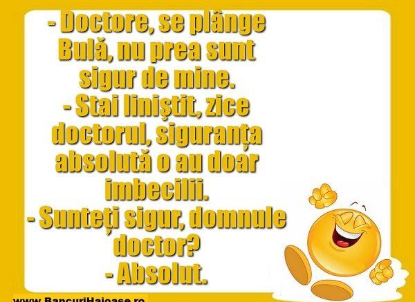 banc cu doctori siguri pe ei, banc cu doctori, banc doctori, bancuri cu doctori, bancuri doctori, bancuri despre doctori, bancuri doctori 2019, bancuri doctori noi, bancuri doctori tari, bancuri cu doctori tari, bancuri cu doctori 2019, cele mai tari bancuri cu doctori, cele mai bune bancuri cu doctori, top 10 bancuri doctori, top 10 bancuri cu doctori