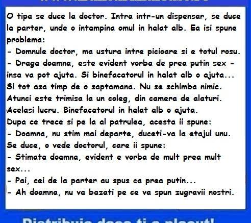 Banc cu doctori si zugravi, bancuri cu doctori 2019