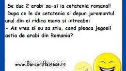Banc cu arabi si cetatenia romana, bancuri cu arabi 2020, Banc cu arabi, arabi si cetatenia romana, bancuri cu arabi, bancuri 2020,
